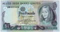 Allied Irish Banks 5 Pounds,  1. 1.1982