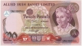 Allied Irish Banks 20 Pounds,  1.12.1984