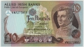 Allied Irish Banks 10 Pounds,  1. 1.1986