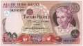 Allied Irish Banks 20 Pounds,  1. 4.1987