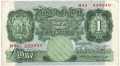 Bank Of England 1 Pound Notes Britannia 1 Pound, from 1930