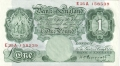 Bank Of England 1 Pound Notes Britannia 1 Pound, from 1934