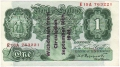 Bank Of England 1 Pound Notes Britannia 1 Pound, 1941