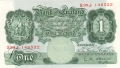 Bank Of England 1 Pound Notes Britannia 1 Pound, from 1955