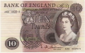 Bank Of England 10 Pound Notes 10 Pounds, from 1964