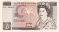 Bank Of England 10 Pound Notes 10 Pounds, from 1975