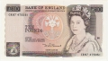 Bank Of England 10 Pound Notes 10 Pounds, from 1984
