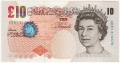 Bank Of England 10 Pound Notes 10 Pounds, from 2004