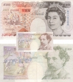 Bank Of England 10 Pound Notes 10 Pounds, from 1993