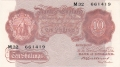 Bank Of England 10 Shilling Notes Britannia 10 Shillings, from 1930