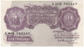 Bank Of England 10 Shilling Notes Britannia 10 Shillings, from 1940