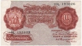 Bank Of England 10 Shilling Notes Britannia 10 Shillings, from 1948