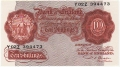 Bank Of England 10 Shilling Notes Britannia 10 Shillings, from 1950