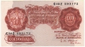 Bank Of England 10 Shilling Notes Britannia 10 Shillings, from 1955