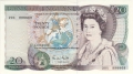 Bank Of England 20 And 50 Pound Notes 20 Pounds, from 1988