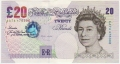 Bank Of England 20 And 50 Pound Notes 20 Pounds, from 1999