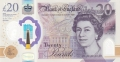 Bank Of England 20 And 50 Pound Notes 20 Pounds, from 2020