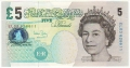 Bank Of England 5 Pound Notes From 1980 5 Pounds, from 2004