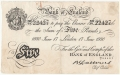 Bank Of England 5 Pound Notes To 1970 5 Pounds, 31. 3.1931