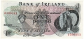 Bank Of Ireland 1 5 And 10 Pounds 1 Pound, from 1967