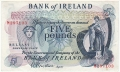 Bank Of Ireland 1 5 And 10 Pounds 5 Pounds, from 1967