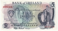 Bank Of Ireland 1 5 And 10 Pounds 5 Pounds, from 1972