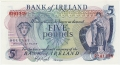 Bank Of Ireland 1 5 And 10 Pounds 5 Pounds, from 1977