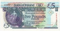 Bank Of Ireland 1 5 And 10 Pounds 5 Pounds, 28. 8.1990