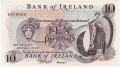 Bank Of Ireland 1 5 And 10 Pounds 10 Pounds, from 1972