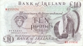 Bank Of Ireland 1 5 And 10 Pounds 10 Pounds, from 1984