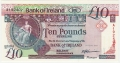 Bank Of Ireland 1 5 And 10 Pounds 10 Pounds, 14. 5.1991