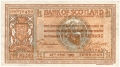 Bank Of Scotland 1 Pound Notes 1 Pound, 11. 3.1930