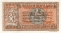 Bank Of Scotland 1 Pound Notes 1 Pound, 16.10.1943