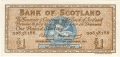 Bank Of Scotland 1 Pound Notes 1 Pound, 20.11.1961