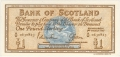 Bank Of Scotland 1 Pound Notes 1 Pound,  1. 6.1966