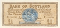 Bank Of Scotland 1 Pound Notes 1 Pound,  3. 3.1967