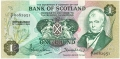 Bank Of Scotland 1 Pound Notes 1 Pound, 10. 8.1970