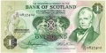 Bank Of Scotland 1 Pound Notes 1 Pound, 15.10.1979