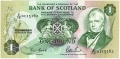 Bank Of Scotland 1 Pound Notes 1 Pound, 19. 8.1988