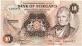Bank Of Scotland 10 Pound Notes 10 Pounds, 10.10.1979