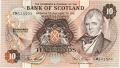 Bank Of Scotland 10 Pound Notes 10 Pounds, 22. 7.1981
