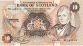 Bank Of Scotland 10 Pound Notes 10 Pounds,  1. 9.1989