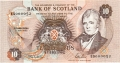 Bank Of Scotland 10 Pound Notes 10 Pounds,  7. 5.1992