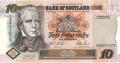 Bank Of Scotland 10 Pound Notes 10 Pounds,  1. 2.1995