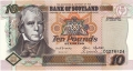 Bank Of Scotland 10 Pound Notes 10 Pounds, 18. 8.1998