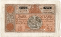 Bank Of Scotland 5 Pound Notes 5 Pounds, 10. 9.1941