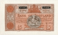 Bank Of Scotland 5 Pound Notes 5 Pounds, 12. 7.1944
