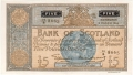 Bank Of Scotland 5 Pound Notes 5 Pounds,  6. 4.1955