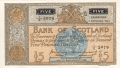 Bank Of Scotland 5 Pound Notes 5 Pounds,  2. 9.1955