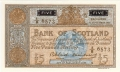 Bank Of Scotland 5 Pound Notes 5 Pounds, 15. 9.1961